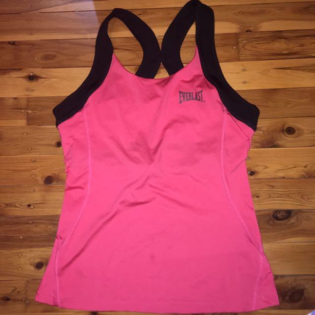 Pink Everlast Gym Shirt