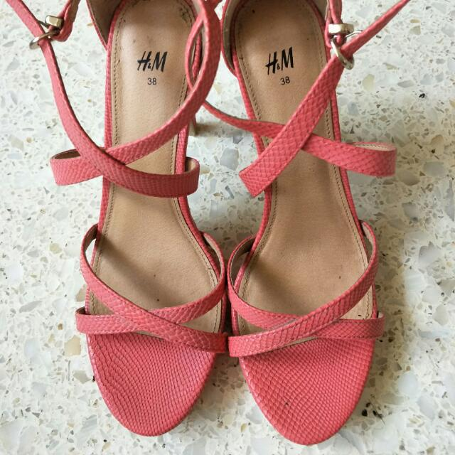 Pink H&M Stilletos
