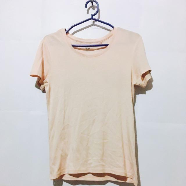 Pink Uniqlo T-shirt