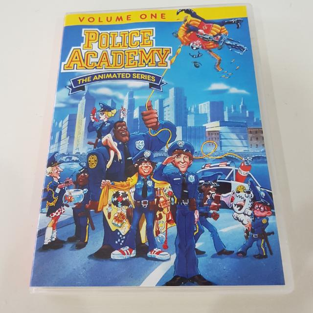 Police Academy Animated Series Cartoon Volume 1