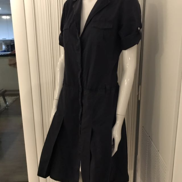 Prada Pleated Dress (size 6/ 40)