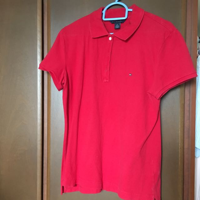 a9356674 Authentic Tommy Hilfiger Polo Tee, Luxury, Apparel on Carousell