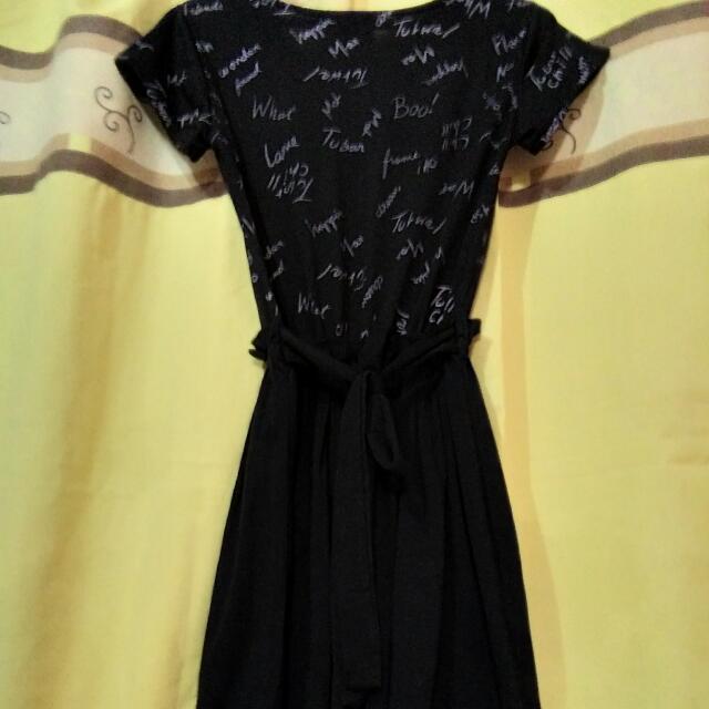 Preloved Ribbon-back Dress