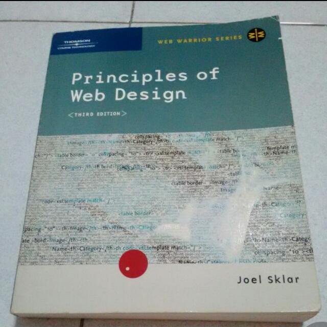 Principles Of Web Design 3rd Edition Joel Sklar Books Stationery Textbooks On Carousell