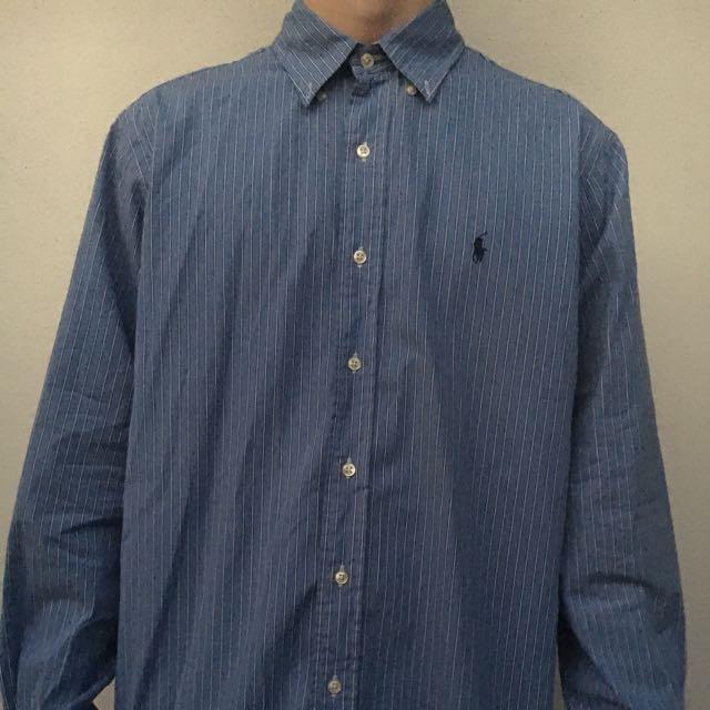 Ralph Lauren Classic Fit Button Up - Size Large
