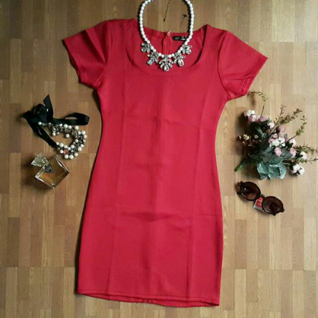 Red Dress Bodycon