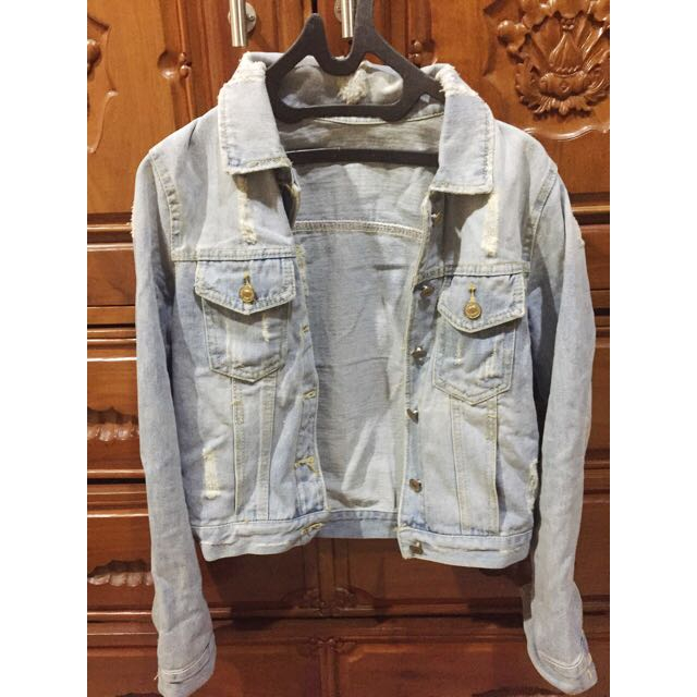 Ripped Jaket Jeans