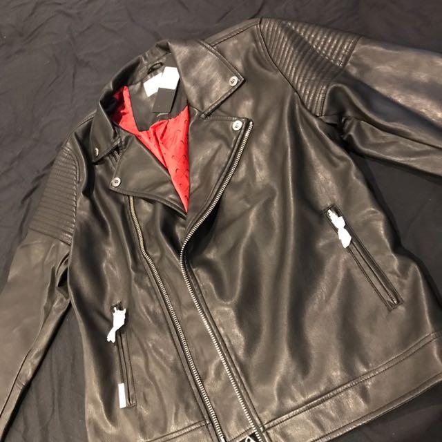 Saint Morta Leather Jacket