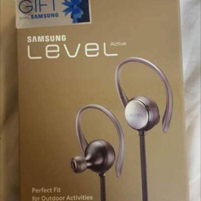 Authentic samsung level active with bluetooth