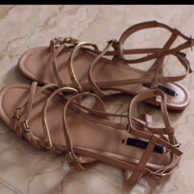 sandal Zara original REPRICE
