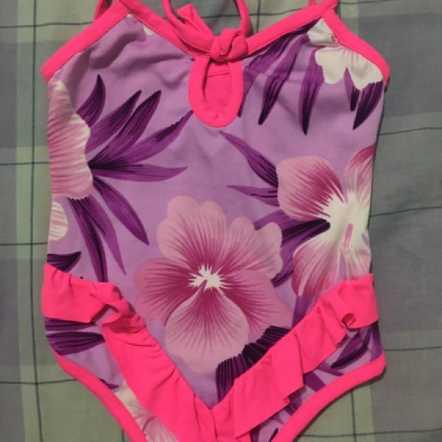 Set Of 2 Girls Swimwear