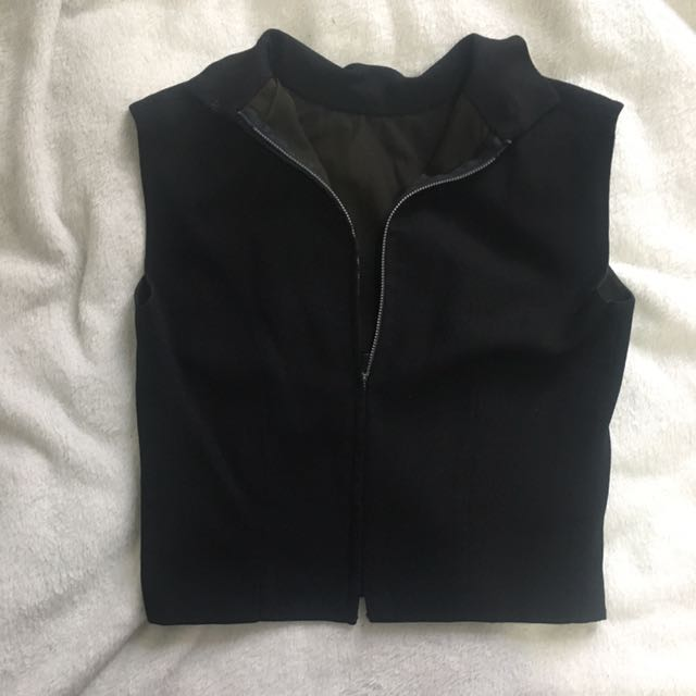 Sexiest And Coolest Zip Up Top/vest