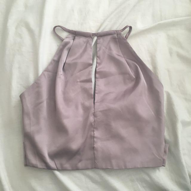Silk Lavender Crop