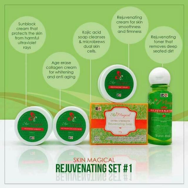Skin Magical Rejuvenating Set