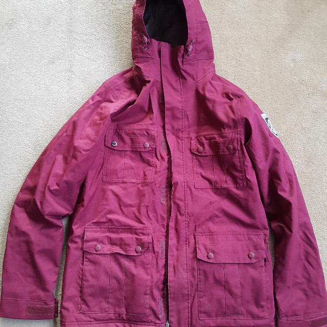 Special Blend Snow Jacket (Burgundy)