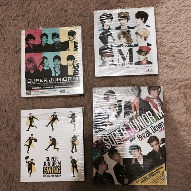 Super Junior各專輯