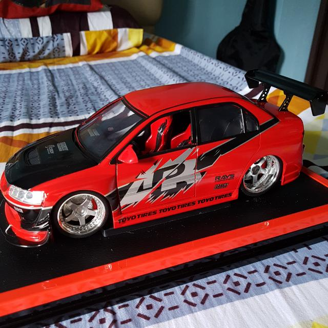 SUPER RARE!!! Fast And Furious Tokyo Drift Sean Mitsubishi Lancer 1