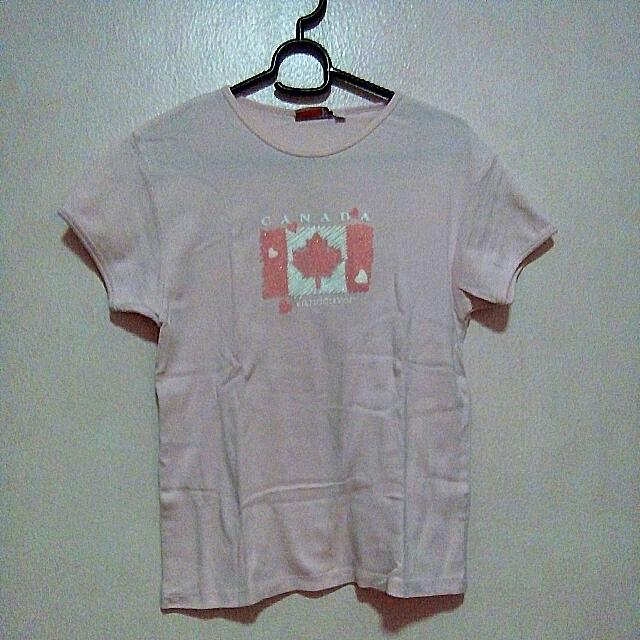 Teepee Canada Shirt (Pink)