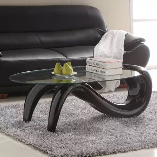 Tempered Glass Centre Table