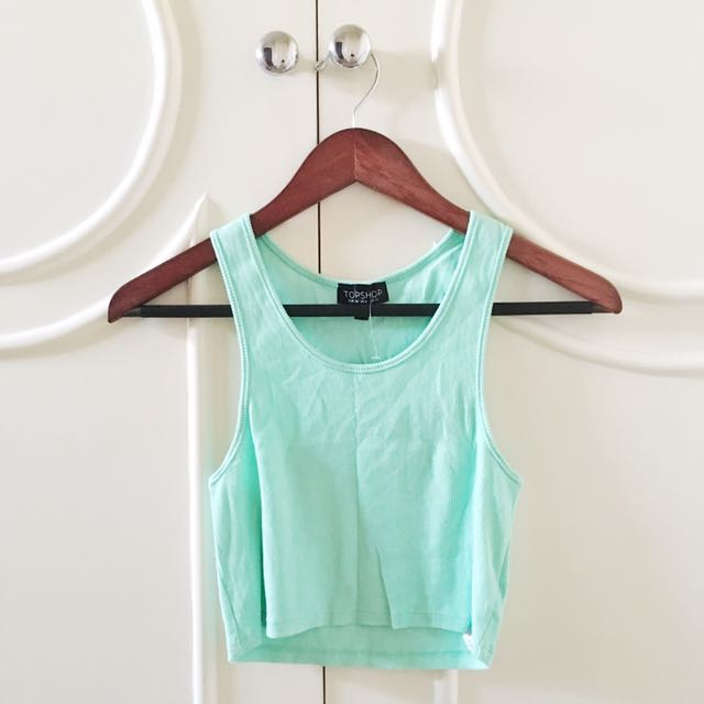 Topshop Mint Green Tank