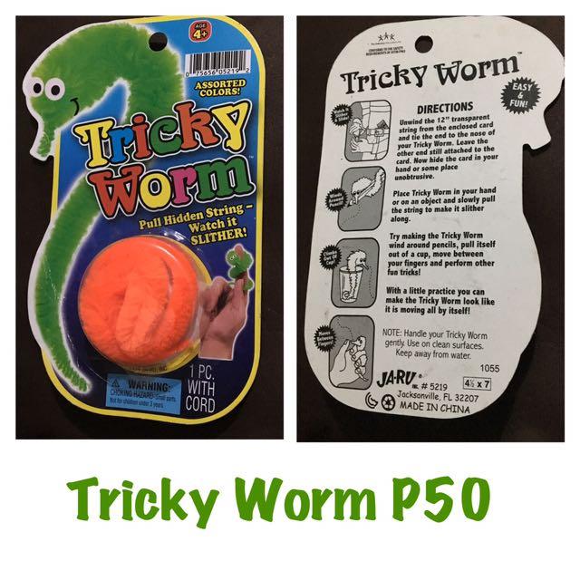 Tricky Worm Toy