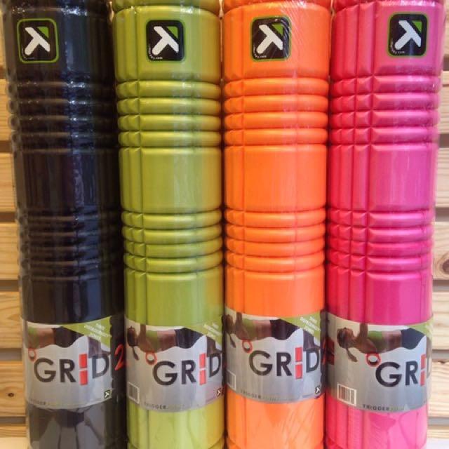 Trigger Point The Grid 2.0 美國專利 自我筋膜放鬆工具 FOAM ROLLER 按摩滾輪 滾筒 瑜伽滾輪