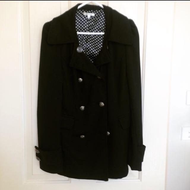 Valleygirl Black Coat