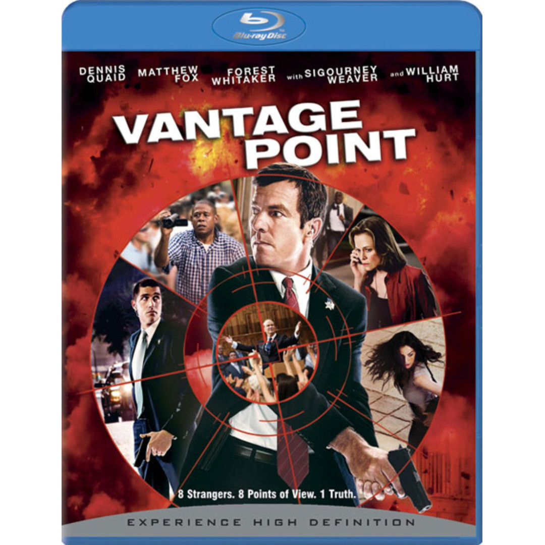 Vantage Point (blu-ray, US, Region Free)