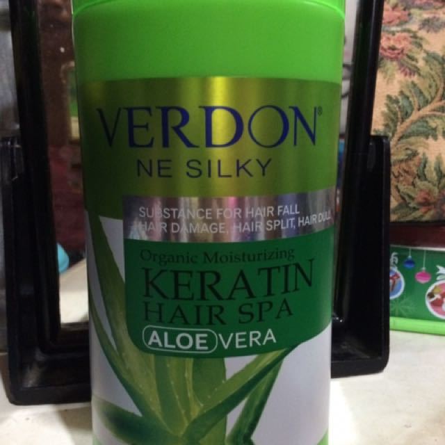 Verdon Keratin Hair Spa Aloe Vera