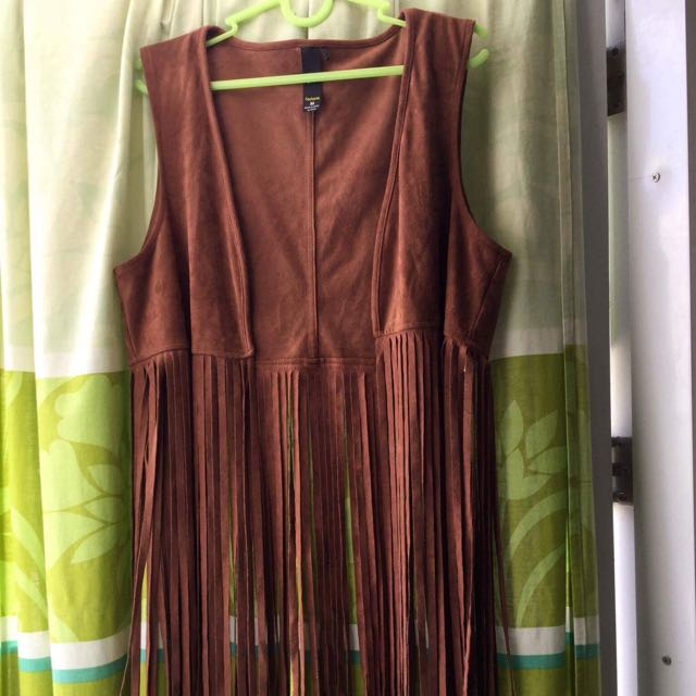Vest with Fringes