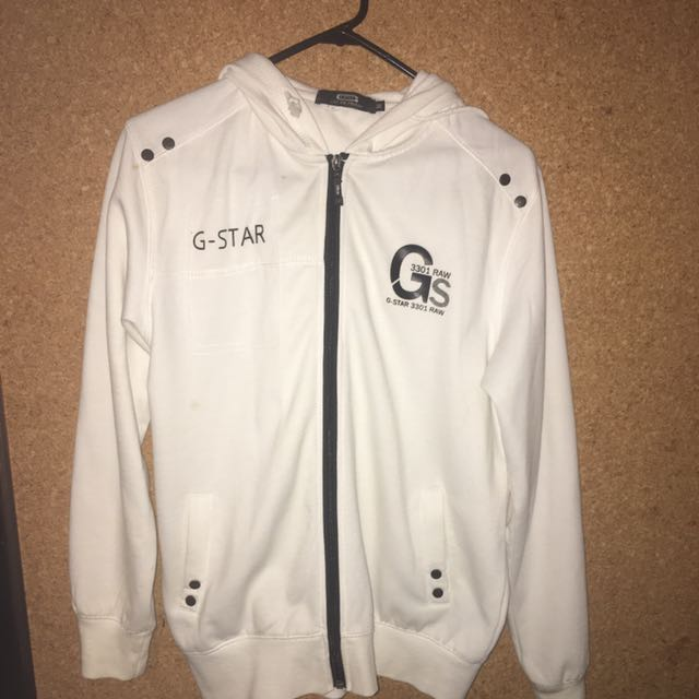 White G-Star Raw
