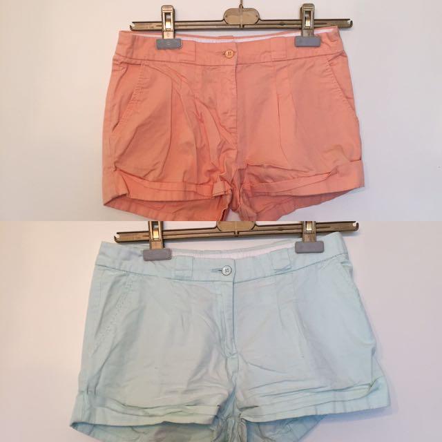 x2 H&M Shorts