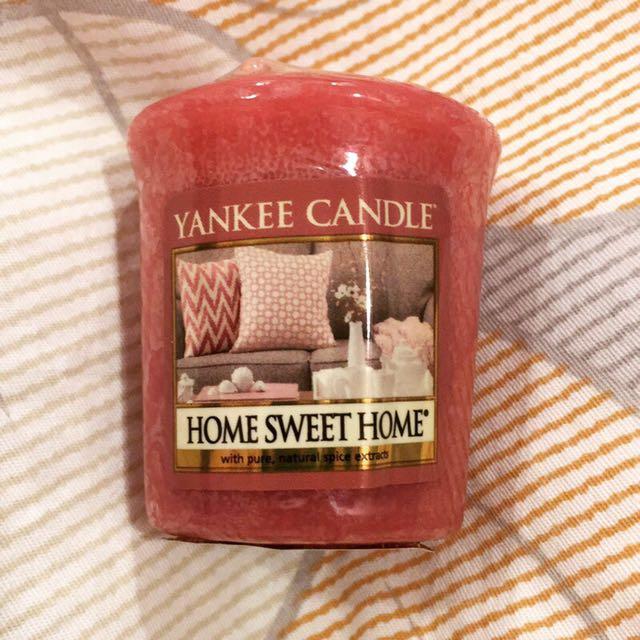 Yankee蠟燭 祈禱燭 甜蜜的家