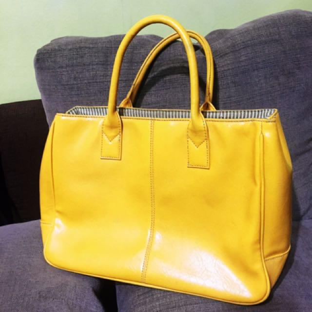 Yellow Casual Bag