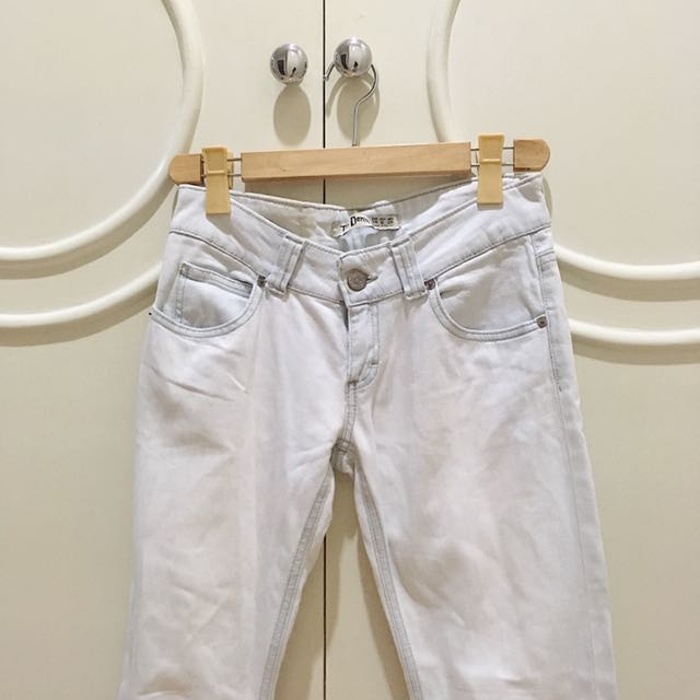 Zara TRF Denim Pants
