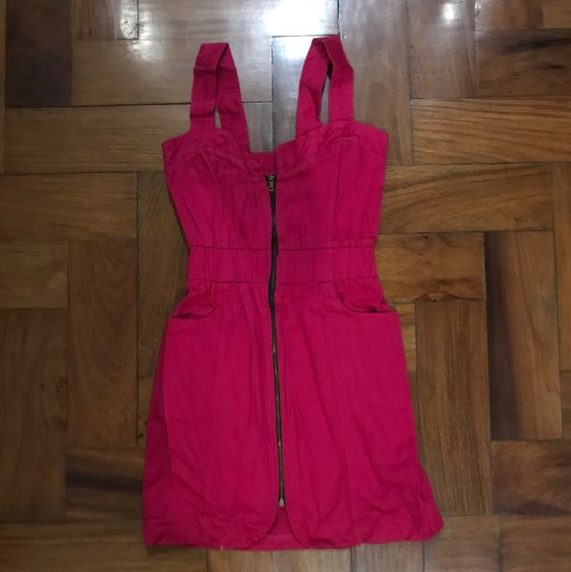 Zipped Up Dress