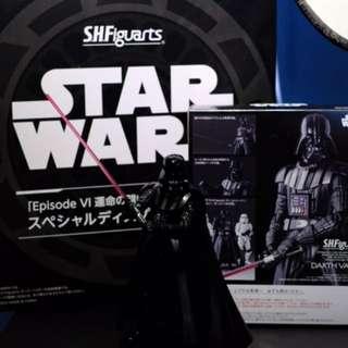 Shf Darth Vader 連特典地台