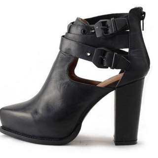 Jeffrey Campbell Cut Out Strappy Boot (fits Like 7.5)