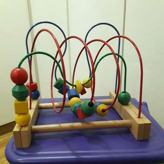 Ikea Wooden Sensory Toy