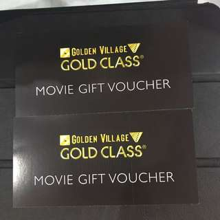 One Pair Of GV Gold Class Ticket