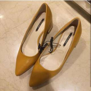 NEW ZARA SHOES SIZE 39 WITH TAG FREE ONGKIR