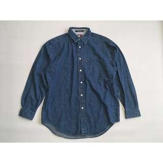 古著TOMMY JEANS Denim Shirts 單寧襯衫 牛仔襯衫