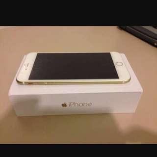 IPHONE 6 + gold 16gb