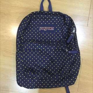 Polka Dot Jansport Backpack