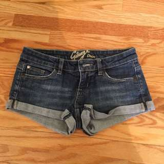 Garage Denim Shorts Size 0