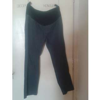 Mothercare Black Adjustable Maternity Jeans