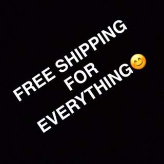 Everything Free Shipping