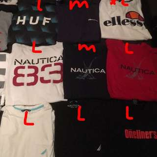 Multiple Shirts