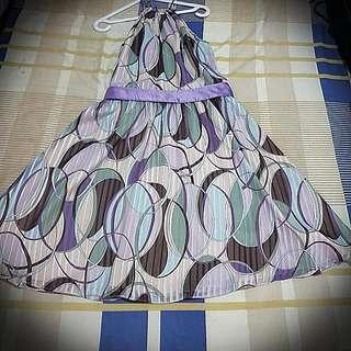 Branded Halter Dress From Rustan's