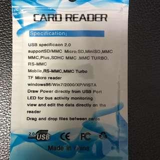 Mini SD Card Reader